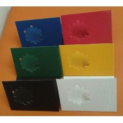 Přání z mikrovlny s výsekem 100 ks, 5 barev