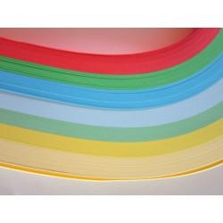 Papírové proužky 7 barev, 2 cm