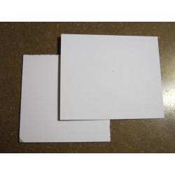 Lepenkové karty 6,5 x 6,5 cm, 50 ks