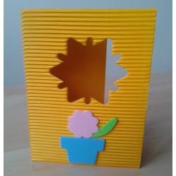 Přání z mikrovlny, žlutá, 10 ks