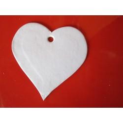 Výsek srdce lepenka, 10 ks,