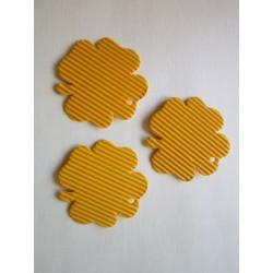 Čtyřlístek, mikrovlna,10 ks, žlutý