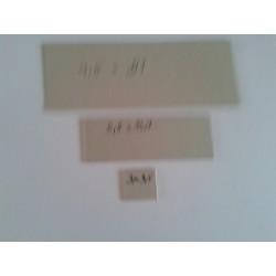 Lepenkové karty šedé, 40,-/kg